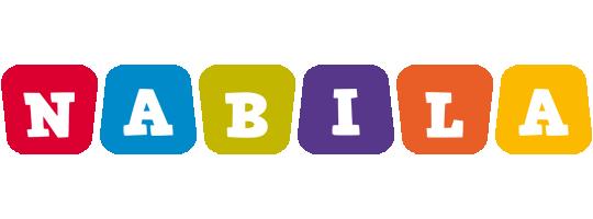Nabila daycare logo