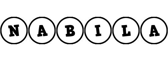 Nabila handy logo