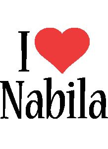 Nabila i-love logo