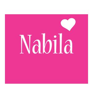 Nabila love-heart logo