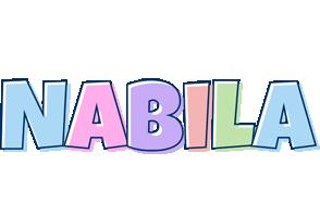 Nabila pastel logo
