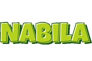 Nabila summer logo