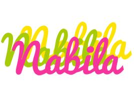 Nabila sweets logo