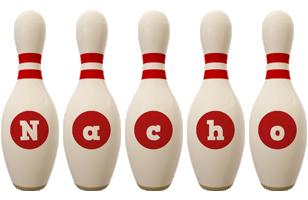 Nacho bowling-pin logo
