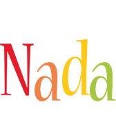 Nada birthday logo