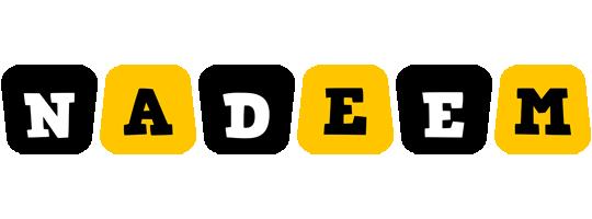 Nadeem boots logo