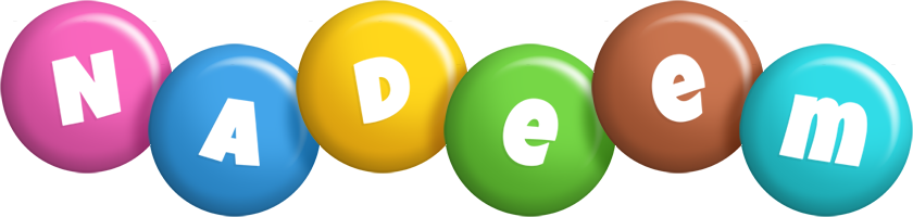 Nadeem candy logo