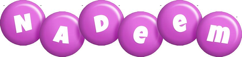 Nadeem candy-purple logo