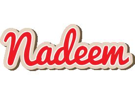 Nadeem chocolate logo