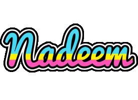 Nadeem circus logo