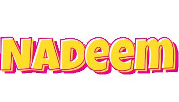 Nadeem kaboom logo