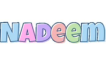 Nadeem pastel logo