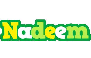 Nadeem soccer logo