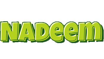 Nadeem summer logo