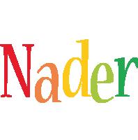 Nader birthday logo