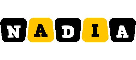 Nadia boots logo