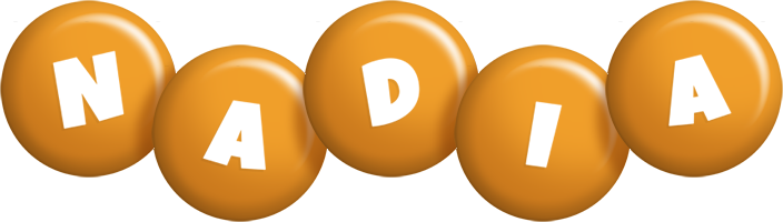 Nadia candy-orange logo