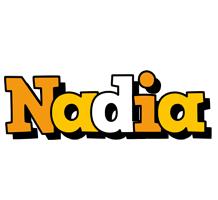 Nadia cartoon logo