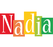 Nadia colors logo