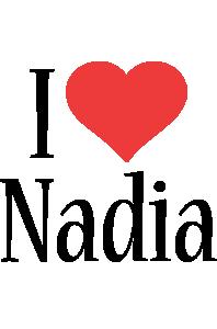 Nadia i-love logo