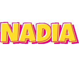 Nadia kaboom logo