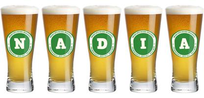 Nadia lager logo