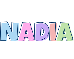 Nadia pastel logo
