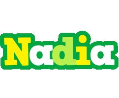 Nadia soccer logo