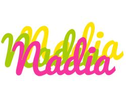Nadia sweets logo