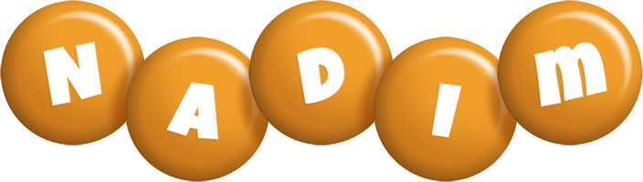 Nadim candy-orange logo