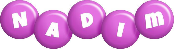 Nadim candy-purple logo