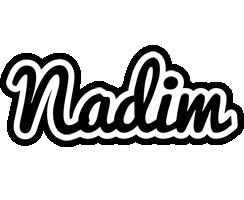 Nadim chess logo
