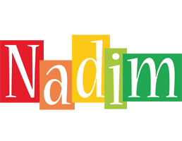 Nadim colors logo