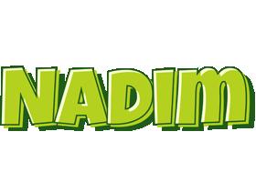 Nadim summer logo