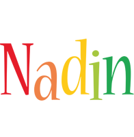 Nadin birthday logo