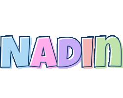 Nadin pastel logo