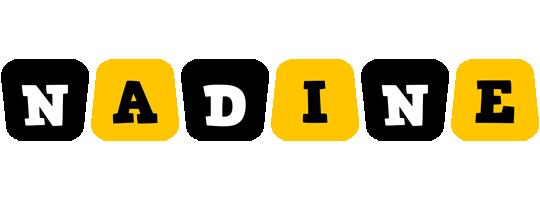 Nadine boots logo