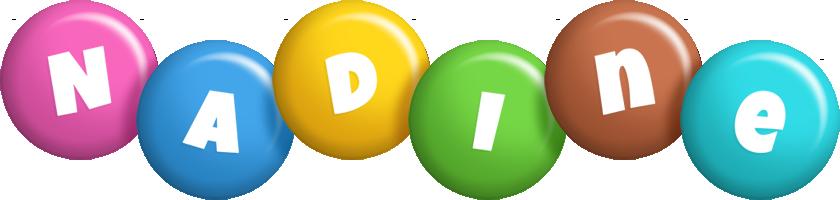 Nadine candy logo