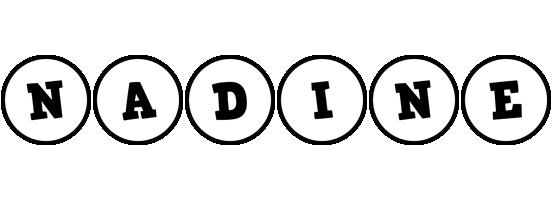 Nadine handy logo