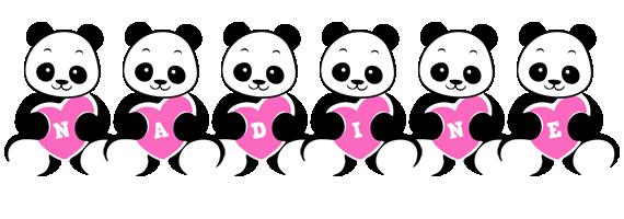 Nadine love-panda logo