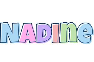 Nadine pastel logo