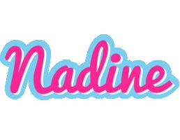 Nadine popstar logo
