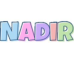 Nadir pastel logo