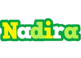 Nadira soccer logo