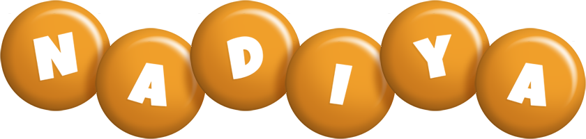 Nadiya candy-orange logo