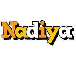 Nadiya cartoon logo