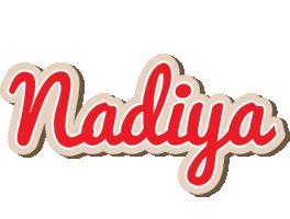 Nadiya chocolate logo