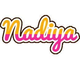 Nadiya smoothie logo