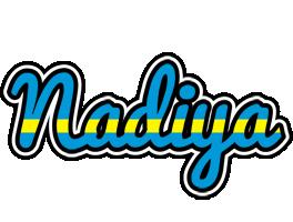 Nadiya sweden logo