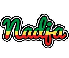 Nadja african logo